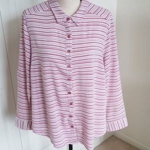 Fred David Long Sleeved Blouse